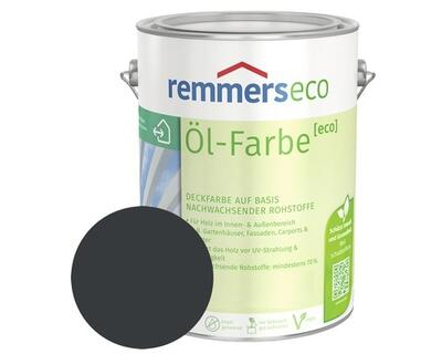 Remmers eco Oliemaling RAL 7016 Antracitgrå