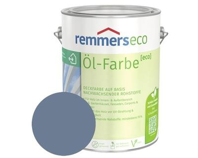 Remmers eco Oliemaling RAL 7662 Dueblå