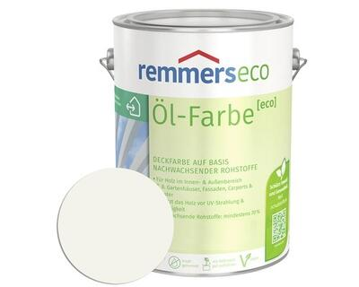 Remmers eco Oliemaling RAL 9016 Hvid